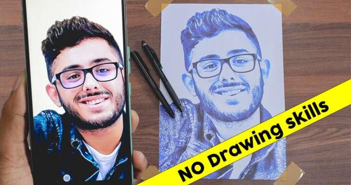 carry minati photo drawing
