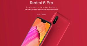 Xiaomi Redmi 6, Redmi 6A, Redmi 6 Pro With AI Face Unlock Launched