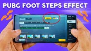 pubg footstep sound effect