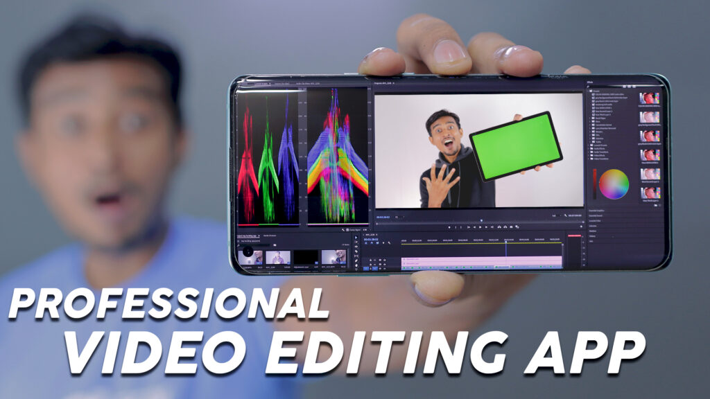 Top 5 Professional VIDEO EDITING Apps For Android | By ITECH
