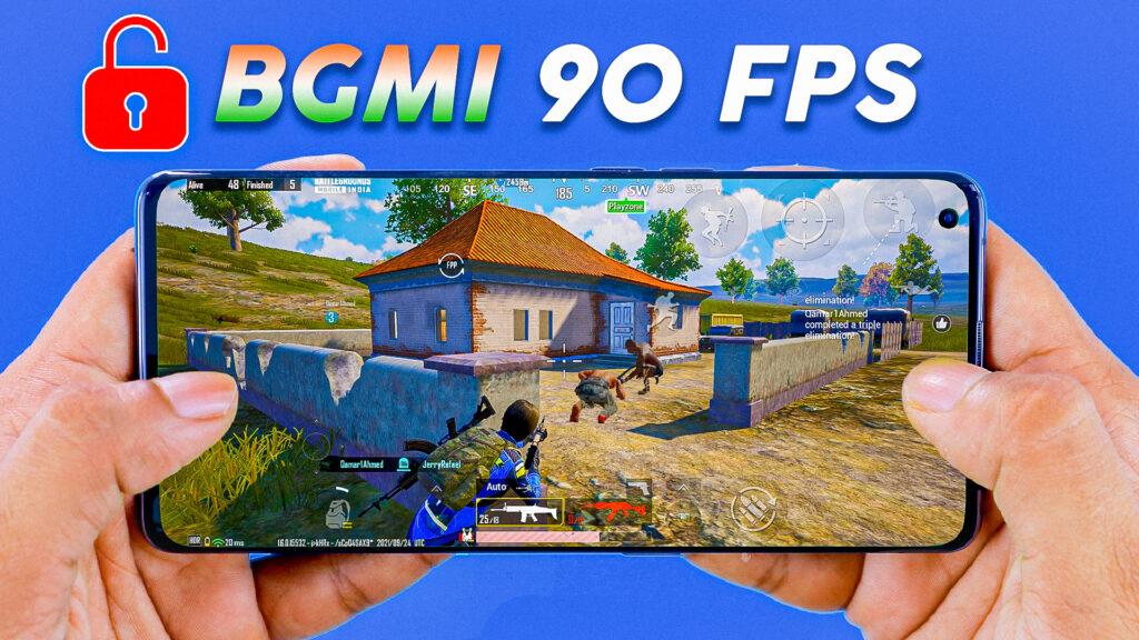 Unlock BGMI HDR Graphics 90FPS 100%