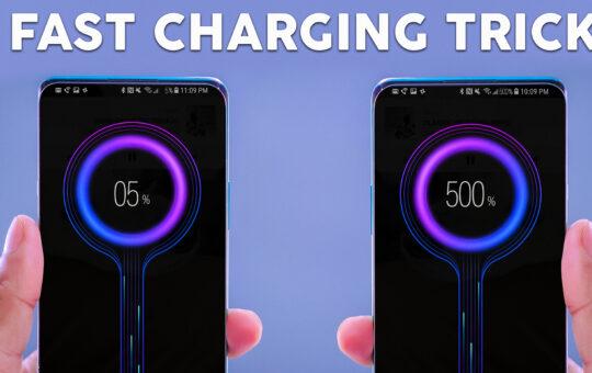 mobile fast charging app