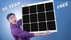 Loom Solar Panel 75 watt - 12 volt Mono Perc